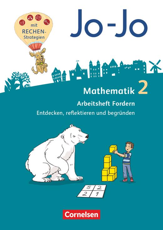 Jo-Jo Mathematik - Lösungen zum Arbeitsheft Fordern als Download - 2. Schuljahr