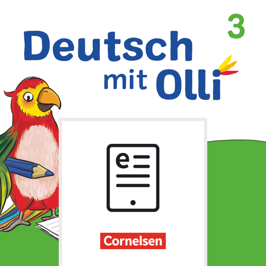 Deutsch mit Olli - Sprachbuch als E-Book - 3. Schuljahr