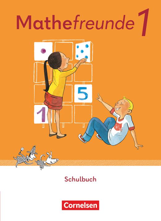 Mathefreunde - Schülerbuch mit Kartonbeilagen und Das-kann-ich-schon-Heft - 1. Schuljahr