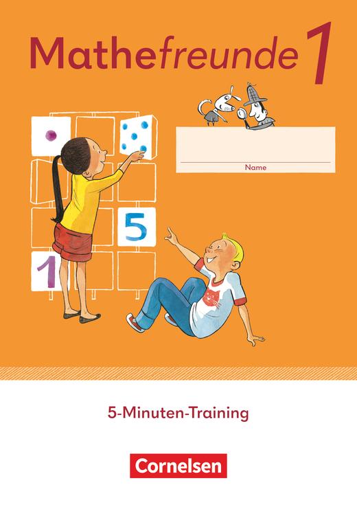 Mathefreunde - 5-Minuten-Training - Arbeitsheft - 1. Schuljahr