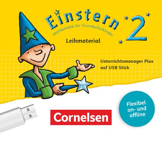 Einstern - Unterrichtsmanager Plus auf USB-Stick - Leihmaterial - Band 2