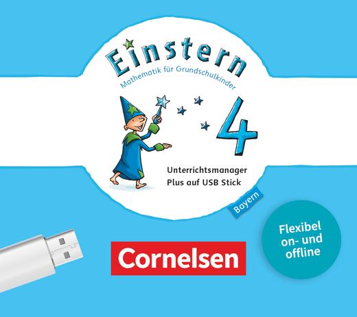 Einstern - Unterrichtsmanager Plus auf USB-Stick - Band 4