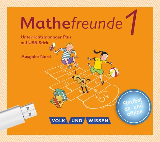Mathefreunde - Unterrichtsmanager Plus auf USB-Stick - 1. Schuljahr