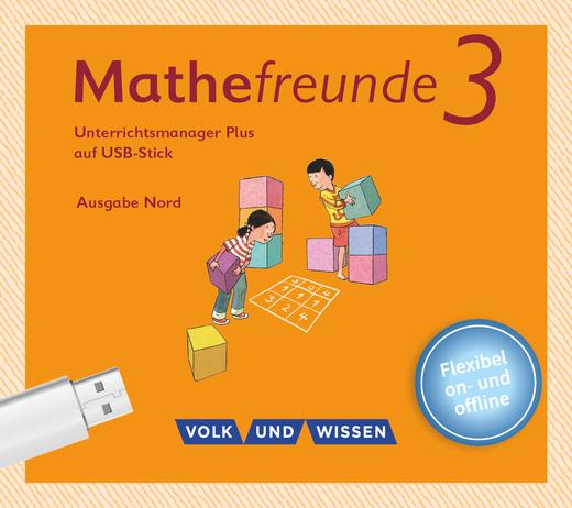 Mathefreunde - Unterrichtsmanager Plus auf USB-Stick - 3. Schuljahr
