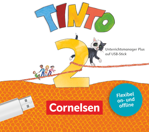 Tinto Sprachlesebuch 2-4 - Unterrichtsmanager Plus auf USB-Stick - 2. Schuljahr