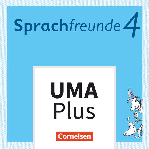 Sprachfreunde - Unterrichtsmanager Plus - mit Download für Offline-Nutzung - 4. Schuljahr