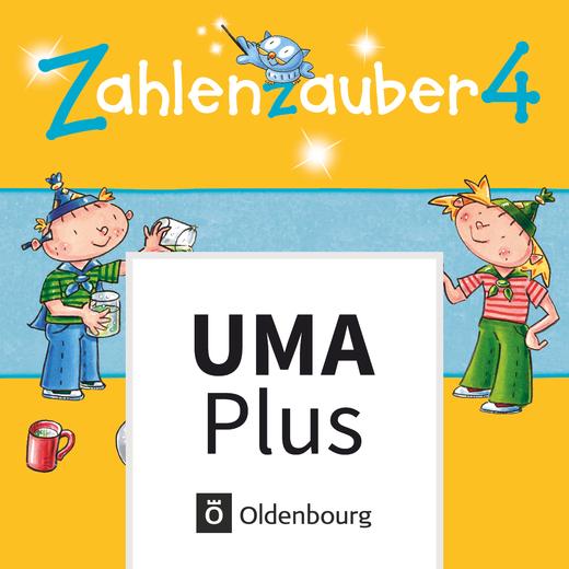 Zahlenzauber - Unterrichtsmanager Plus - mit Download für Offline-Nutzung - 4. Schuljahr