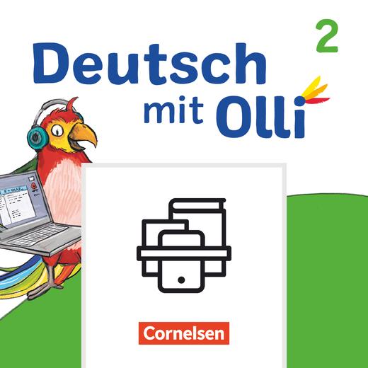 Deutsch mit Olli - Mein Medienpass - Arbeitsheft Medienkompetenz - 2. Schuljahr