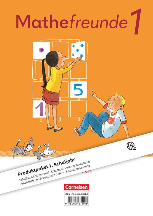 Mathefreunde - Produktpaket - 1. Schuljahr