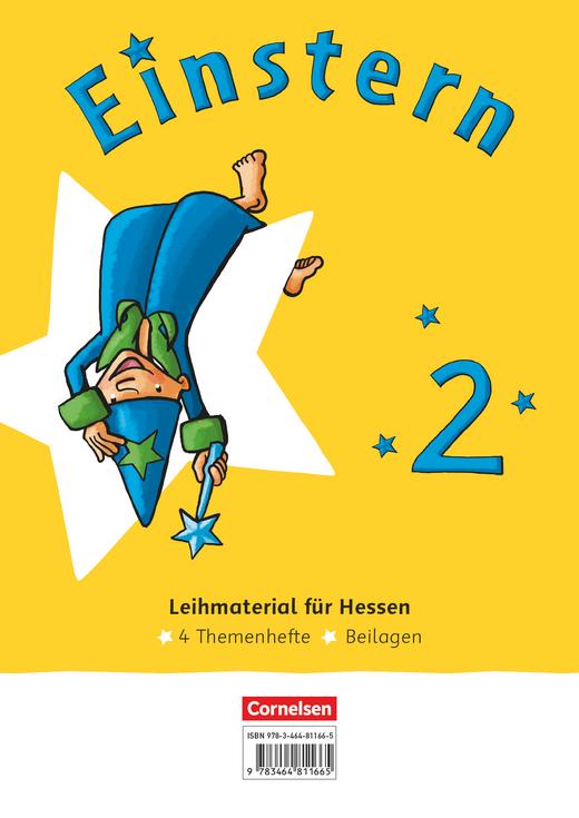 Einstern - Themenhefte 1-4 und Kartonbeilagen im Paket - Band 2