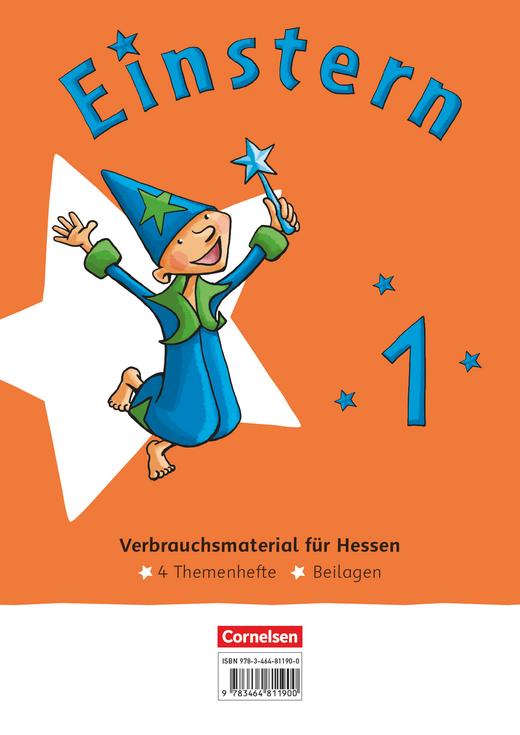 Einstern - Themenhefte 1-4 und Kartonbeilagen im Paket (Ausgabe Hessen) - Band 1