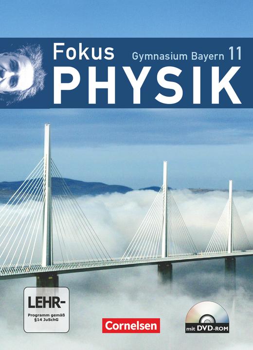 Fokus Physik - Oberstufe - Schülerbuch mit DVD-ROM - 11. Jahrgangsstufe