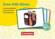Deutsch lernen mit Fotokarten - Grundschule - Erste-Hilfe-Wörter - 250 Bildkarten