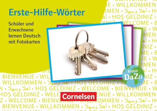 Deutsch lernen mit Fotokarten - Sekundarstufe I/II und Erwachsene - Erste-Hilfe-Wörter (2. Auflage) - 300 Fotokarten