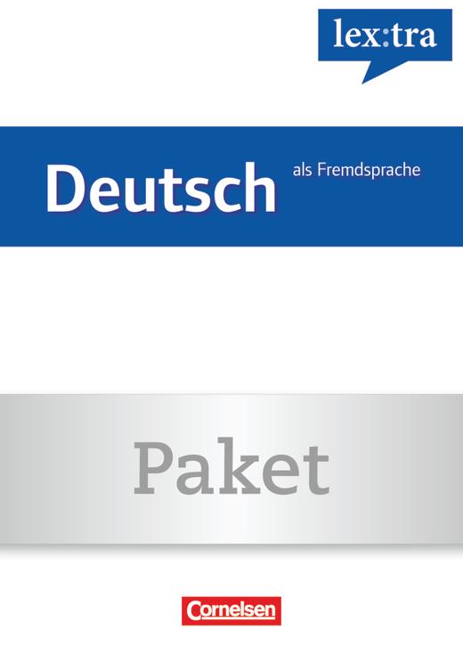 Lextra - Deutsch als Fremdsprache - Übungsbuch Grundwortschatz und Lernwörterbuch - A1-B1 (Übungsbuch) und A1-B2 (Lernwörterbuch)