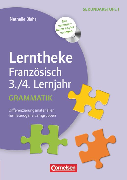 Lerntheke - Grammatik: 3./4. Lernjahr - Differenzierungsmaterialien für heterogene Lerngruppen - Kopiervorlagen mit CD-ROM