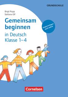 Gemeinsam beginnen - Deutsch - Buch mit Kopiervorlagen über Webcode - Klasse 1-4