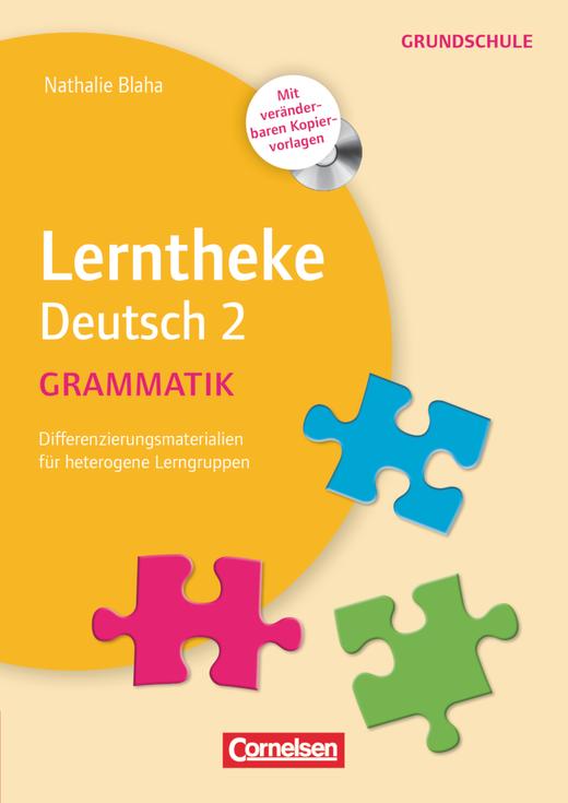 Lerntheke Grundschule - Grammatik 2 - Differenzierungsmaterial für heterogene Lerngruppen - Kopiervorlagen mit CD-ROM