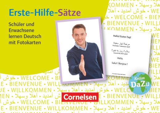 Deutsch lernen mit Fotokarten - Sekundarstufe I/II und Erwachsene - Erste-Hilfe-Sätze - 100 Fotokarten