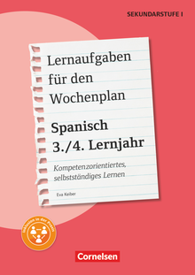 Lernaufgaben für den Wochenplan - Spanisch