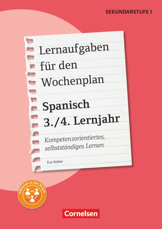 Lernaufgaben für den Wochenplan - Kopiervorlagen - 3./4. Lernjahr