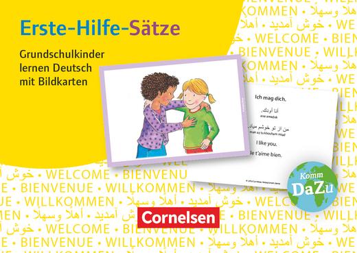 Deutsch lernen mit Fotokarten - Grundschule - Erste-Hilfe-Sätze - 100 Bildkarten