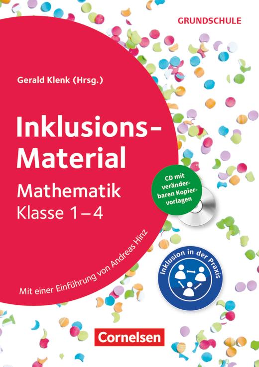 Inklusions-Material Grundschule - Mathematik - Buch mit CD-ROM - Klasse 1-4