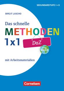 Das schnelle Methoden 1x1 - Sekundarstufe I+II - DaZ - Mit Arbeitsmaterialien - Buch