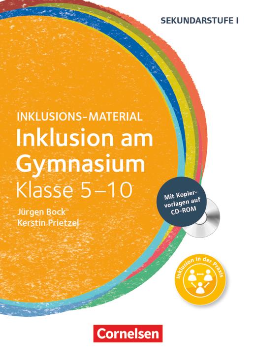 Inklusions-Material - Inklusion am Gymnasium - Buch mit CD-ROM - Klasse 5-10
