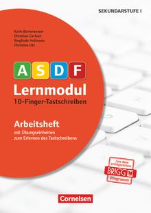 ASDF-Lernmodul - 10-Finger-Tastschreiben (3. Auflage) - Arbeitsheft