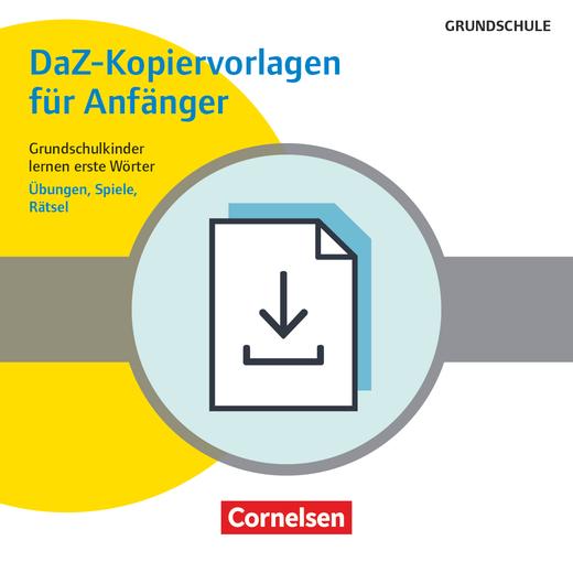 Deutsch lernen mit Fotokarten - Grundschule - DaZ-Kopiervorlagen für Anfänger - Grundschulkinder lernen erste Wörter - Übungen, Spiele, Rätsel - Kopiervorlagen als PDF-Datei