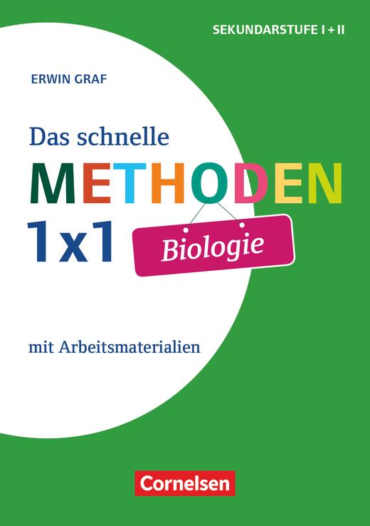 Das schnelle Methoden 1x1 - Sekundarstufe I+II - Biologie - Mit Arbeitsmaterialien - Buch