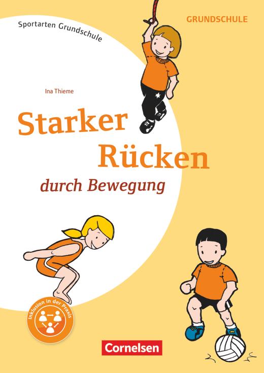 Sportarten Grundschule - Starker Rücken durch Bewegung - Kopiervorlagen