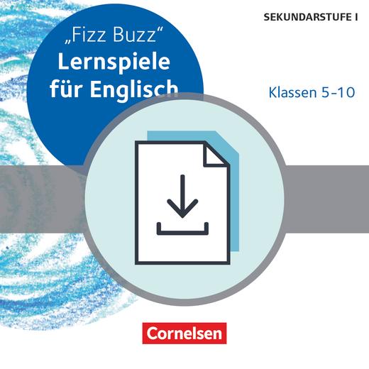 Lernspiele Sekundarstufe I - Fizz Buzz (3. Auflage) - Kopiervorlagen als PDF - Klasse 5-10