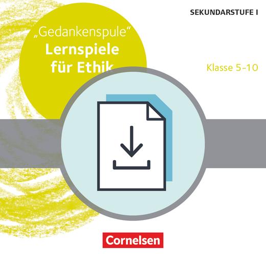 Lernspiele Sekundarstufe I - Gedankenspule (2. Auflage) - Kopiervorlagen als PDF - Klasse 5-10