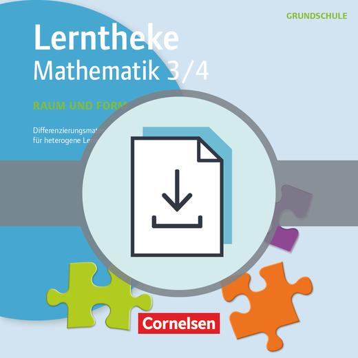 Lerntheke Grundschule - Raum und Form 3/4 - Differenzierungsmaterial für heterogene Lerngruppen - Kopiervorlagen als PDF