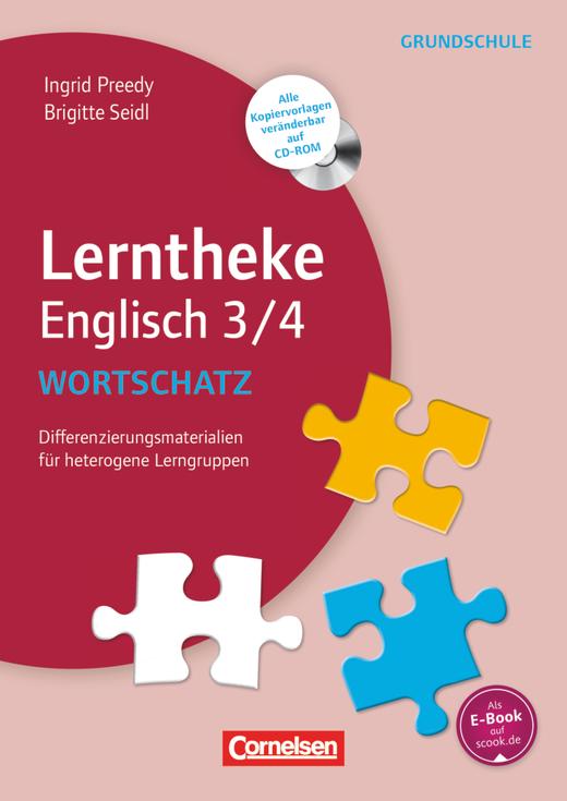 Lerntheke Grundschule - Wortschatz 3/4 - Differenzierungsmaterial für heterogene Lerngruppen - Kopiervorlagen mit CD-ROM