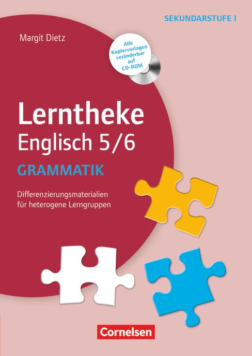 Lerntheke - Grammatik: 5/6 (3. Auflage) - Differenzierungsmaterialien für heterogene Lerngruppen - Kopiervorlagen mit CD-ROM
