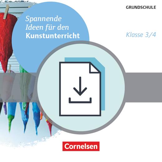 Spannende Ideen für den Kunstunterricht Grundschule - Klasse 3/4 - Kopiervorlagen als PDF