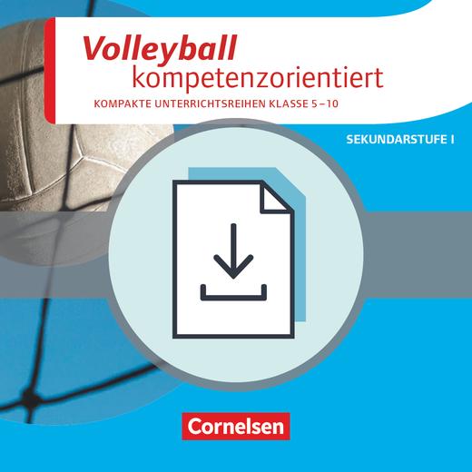 Sportarten - Volleyball kompetenzorientiert - Kopiervorlagen als PDF