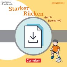 Sportarten Grundschule - Starker Rücken durch Bewegung - Kopiervorlagen als PDF