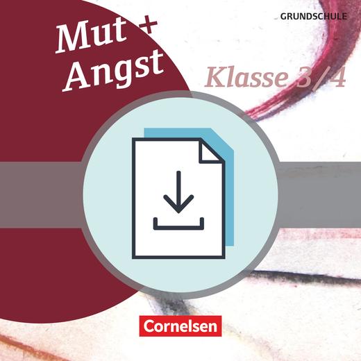 Themenbände Ethik/Philosophie Grundschule - Mut und Angst - Kopiervorlagen als PDF - Klasse 3/4