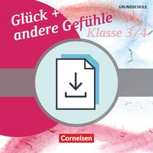 Themenbände Ethik/Philosophie Grundschule - Glück und andere Gefühle - Kopiervorlagen als PDF - Klasse 3/4
