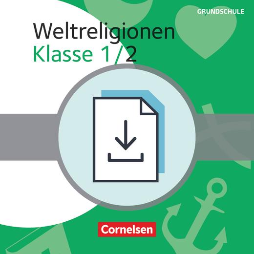 Themenbände Religion Grundschule - Weltreligionen - Kopiervorlagen als PDF - Klasse 1/2
