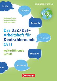 """""""Das bin ich"""" - das DaZ/DaF Arbeitsheft für Deutschlerner (A1) weiterführende Schule - Mit Aufgaben zum Gestalten, Schreiben und Sprechen - Kopiervorlagen"""