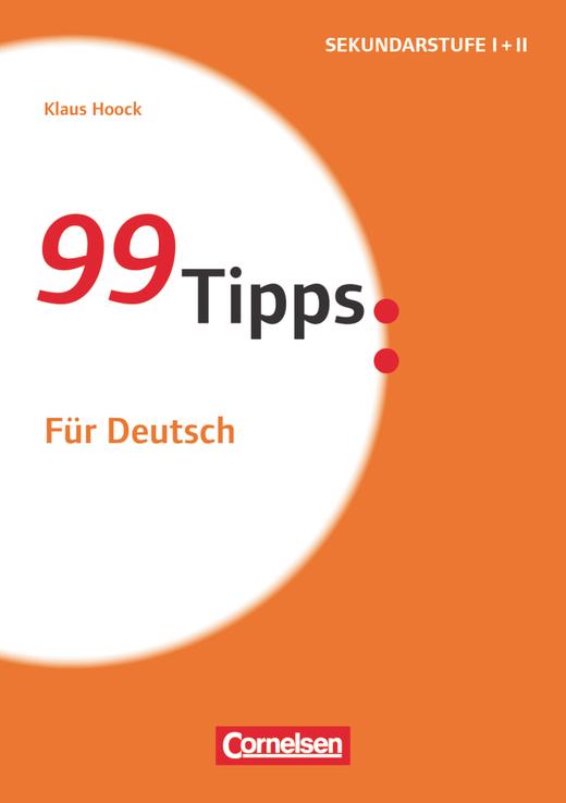 99 Tipps - Für Deutsch - Buch