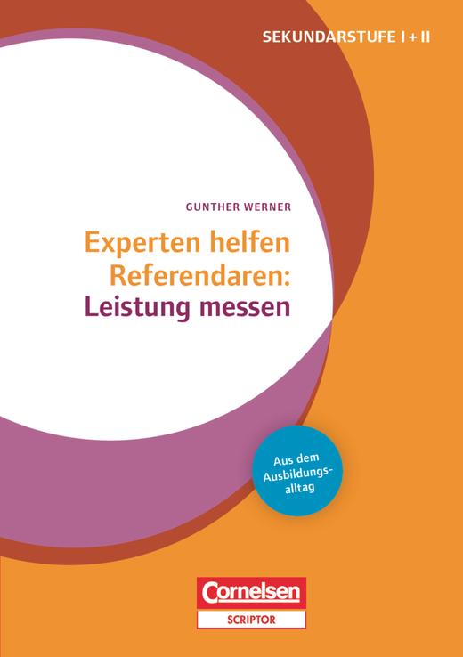 Experten helfen Referendaren - Leistung messen - Buch mit Materialien über Webcode