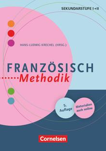 Fachmethodik - Französisch-Methodik  (5., überarbeitete Auflage) - Handbuch für die Sekundarstufe I und II - Buch mit Kopiervorlagen über Webcode