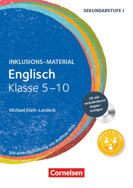 Inklusions-Material - Englisch - Buch mit CD-ROM - Klasse 5-10