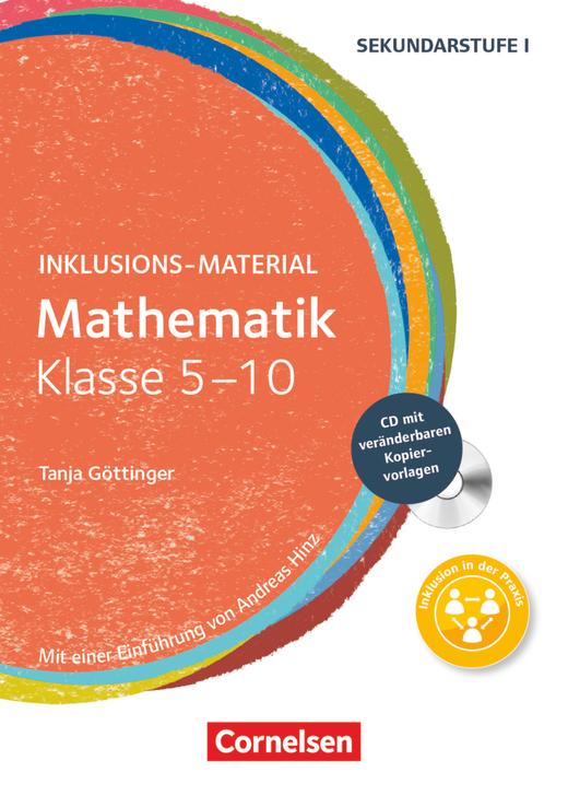 Inklusions-Material - Mathematik - Buch mit CD-ROM - Klasse 5-10